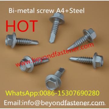Bi-Metall-Dachschraube Selbstschneidende Schraube Bulidex
