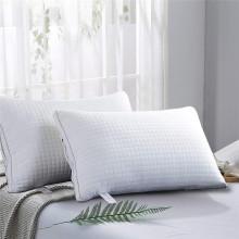 Hochwertiges weißes Entendaunen-Federkissen für Zuhause