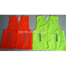 light construction mesh reflector safety vests