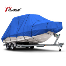 Heavy Duty 600d Marine Grade Oxford Fabric Trailerable Waterproof Boat Cover