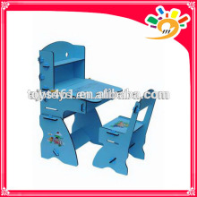 children study table can rise and fall adjustable wooden study table for children