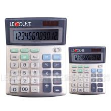 Calculatrice à 12 chiffres de Dual Power Office avec fonction de sélection d'arrondi (LC288)