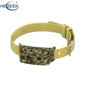 Caméra HD GPS Tracker Collar Pet Dog