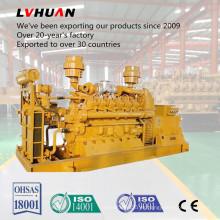 Sistema de generador trifásico del gas de la cama de carbón de la CA 500kw con Ce / ISO