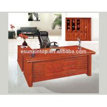Mesas de móveis de escritório elegantes, estofados de cores quentes e suaves, tops de painel rígido (T323)