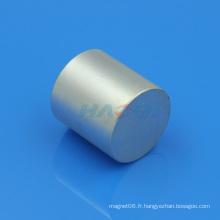 Aimantation axiale forte Aimant de cylindre de néodyme