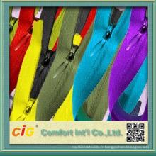 Fashion Invisible Nylon Zipper for Garment