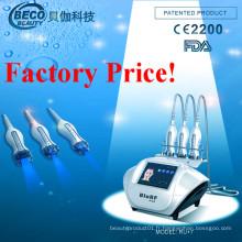 Vide portatif et équipement de beauté de rf et de lumière bleue (RU + 7)