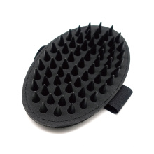 Rubber Pin Normal Type - Handheld Bath Brush Flexible Pad Combs for Pets Dog Grooming Brush
