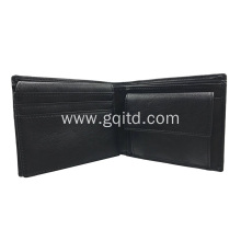 Customized PU mens leather wallet with big promotion