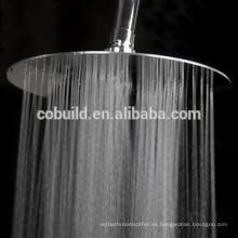 Cabezal de ducha de techo de acero inoxidable de alta presión de 12 pulgadas