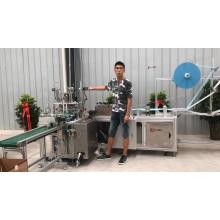 Máquina para fabricar mascarillas faciales en forma de copa automática