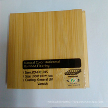 Natural Horizontal Smooth Bamboo Flooring