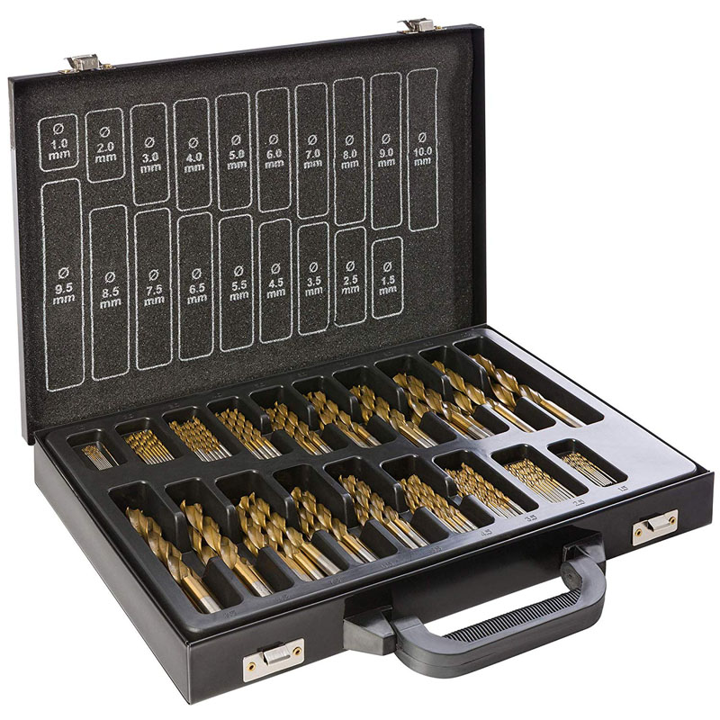 High Speed Steel Concrete Masonry Drill Bit Set
