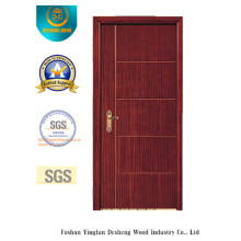Современный дизайн МДФ двери для комнаты с коричневым цветом (фирма xcl-032)