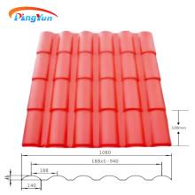 Cobertura em plástico Roma ASA telha de PVC