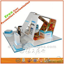 exhibition booth material,exhibit booth ideas,expo show displays from Shanghai