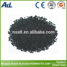 СДГ древесных гранул адсорбента на основе активированного угля