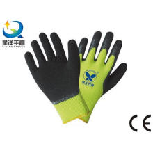 Latex Palm Coated Thumb Fully Coated Safety Glove