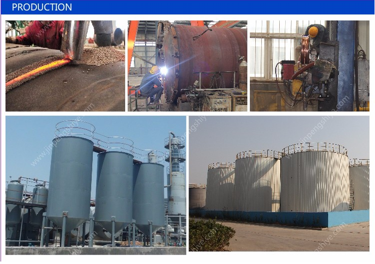 Continuous Waste Oil Distillation Plant