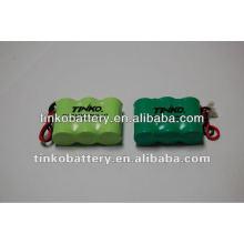 Pack de bateria recarregável NI-MH com boa qualidade