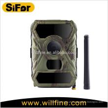 12 MP 1080 P 100 graus lente ampla 940nm preto IR Leds painel solar caça digital câmera