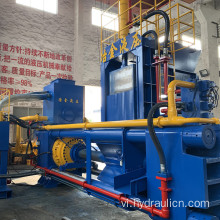 Thép Meal Chippings Granules Briquette Making Press