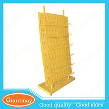 Floor & counter display racks for the indoor and outdoor display of magazines and other publications