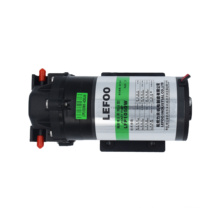 LEFOO 24V 50 GPD Stabilized silent ro water pump reverse osmosis diaphragm pump, booster pump and adapter