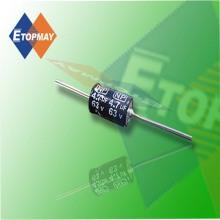 Topmay condensateur électrolytique aluminium bipolaire axial