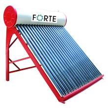 Chauffe-eau solaire à énergie solaire sans produit