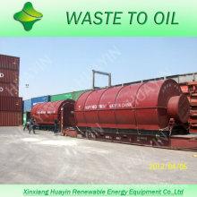 XinXiang HuaYin 10T Chatarra de residuos de plástico Reciclaje para la planta de combustible