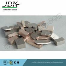 1000mm Grooved Diamond Segment for Granite Cutting Stone Layer