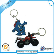 Promotional Gifts Car Emblem PVC Keychain Holder