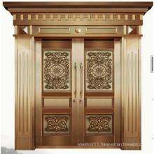 Copper luxury double entry doors