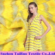 14mm Printed Crepe De Chine Silk for Silk Dress Fabric