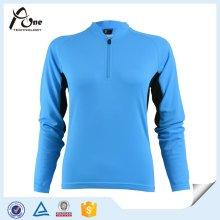 Azul, modelado, longo, luva, ciclismo, ciclismo, ciclismo, roupas