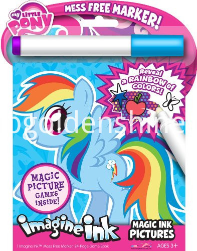 Pony Magic Ink Book