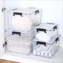 Изготовленный на заказ пластиковый ящик для хранения стека для бытовых товаров