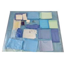 Kits de circuncisão de curativos médicos para pacotes de cortinas cirúrgicas