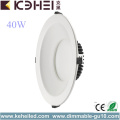 Office Round High Power Downlights LED de 10 pulgadas