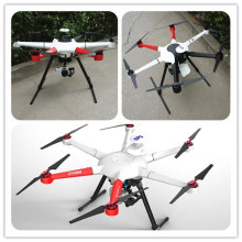 Ticari Drone 800mm Hexacopter 3 Eksenli Mirroless Gimbal