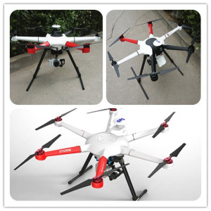 Hexacopter commercial 3 axes 3 axes Miroless Gimbal