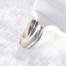 Manchette en argent 925 en argent sterling avec anneau pour homme