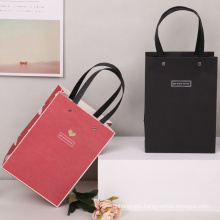 Gold Stamping Logo Paper Gift Bag for Clothes Packing