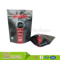 Laminated Material Flexible Packaging Custom Self Standing Craft Paper Pouch