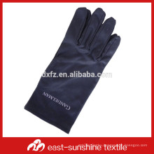 custom logo printed microfiber dusting glove for jewelry ,watches and diamond