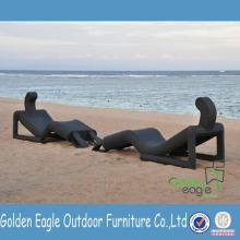 Outdoor Furniture Chaise Lounge Aluminium tube