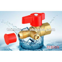 standard port copper gas ball valves with drain