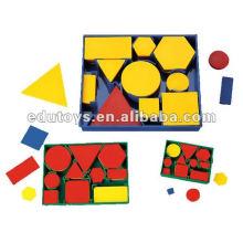 wholesale toys attribute blocks mathematical set